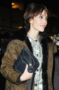 Alexa Chung seen at Rockefeller Center